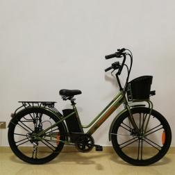 Электровелосипед PIONEER NeoClassic Green