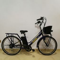 Электровелосипед PIONEER Classic Darkblue 26