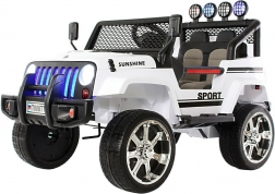 Электромобиль Jeep T008TT (белый)