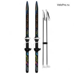 Лыжи подростковые «Ski Race» с палками, 150/110 см