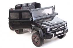 Детский электромобиль G63 AMG P777PP черный