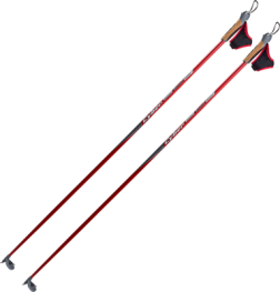 Палки лыжн. STC Cyber (60% карбон) деколь р.140-175 см