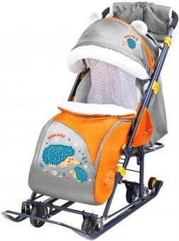 Санки коляска Ника Детям 7-6 расцветки в товаре