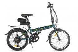 Велогибрид Stels Pilot 630 (20″, темно-зеленый) 36V 350W