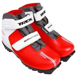 Ботинки лыжные NNN Snowrock липучки