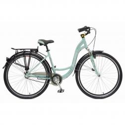 28 Велосипед Stinger BARCELONA STD 17 (зеленый)
