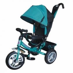 Велосипед 3-х кол FORMULA 3 .d=10″ и 12″ с руч. управ.накл.спинка.надув. кол.