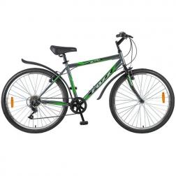 Велосипед 26″ Mikado Blitz Lite, 6 скор. , SYPO, V-brake, серый/зелен.
