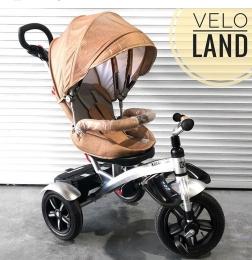 Велосипед 3-х колесный Kiwi cool LJ-A54 Бежевый текстиль