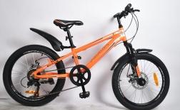 20 Велосипед Rook MA200D оранжев.серый