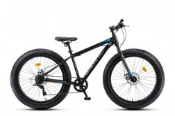 Велосипед MaxxPro FAT X LITE 26 (2019) черно-синий