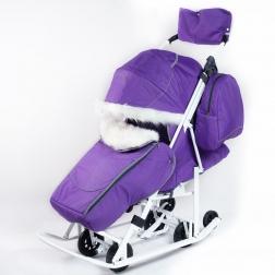 Санки-коляска Picate -Снеговик «Фиалка»