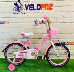 Велосипед детский  ROOK BELLE, РОЗОВЫЙ 14-20