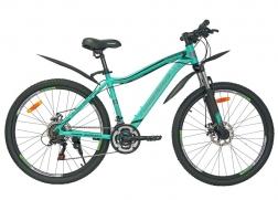 Велосипедд Nameless 26″ J6200DW  зелено-черный 17″