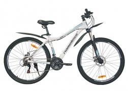 Велосипед 27,5″ NAMELESS J7300DW, БЕЛЫЙ/ЗЕЛЕНЫЙ